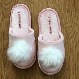 Victoria Secret slippers.